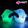 Event Party Decoration Night Glow Cystal Dolphin Shape LED Light