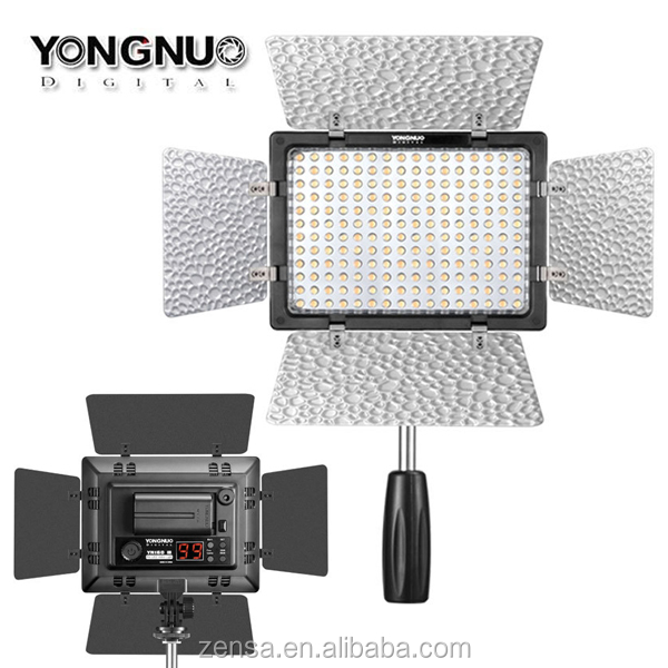 YONGNUO YN-160III LED Camera Flash Digital Video Light 5500K - 3200K Dimmable for Canon Nikon Pentax DSLR Camera & Camcorder