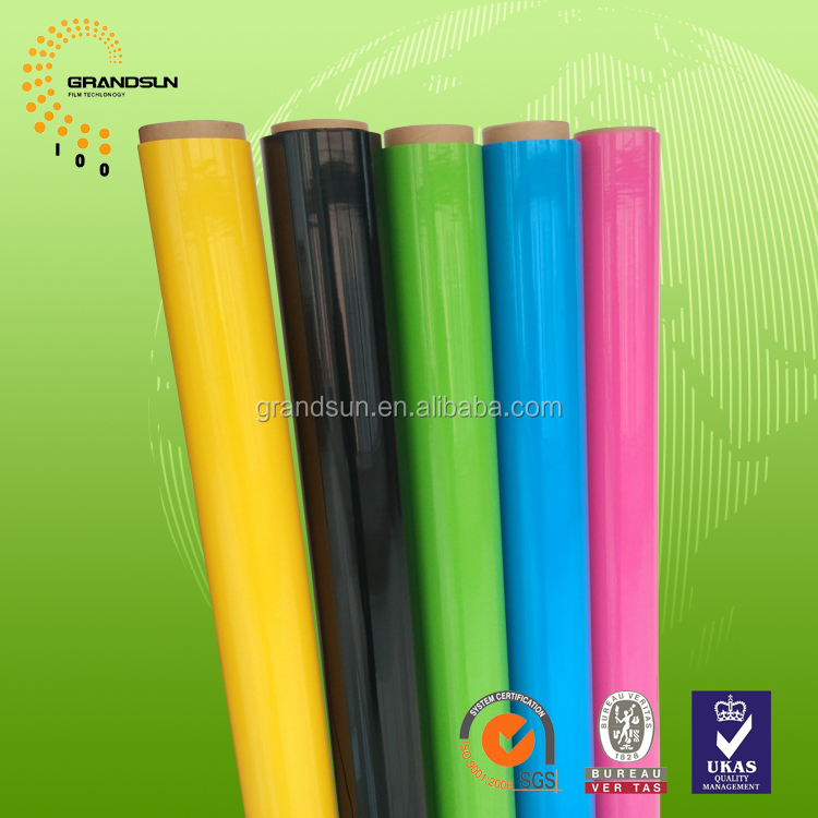 PVC Plastic Film For water-proof wallpaper adhesive
