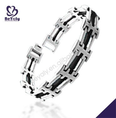 2016 high quality fashion jewelry stainless steel tiger eye bracelet