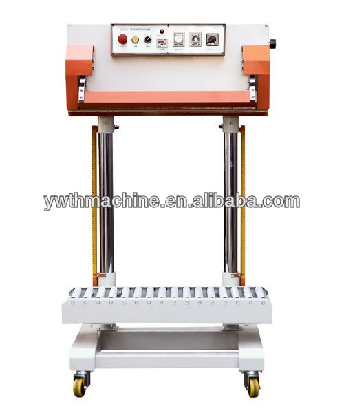 Automatic Vertical Big Compound Bag Band Sealer With Adjustable Height