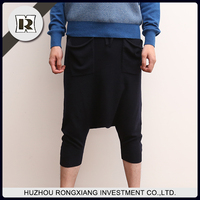 men wool fashion Leisure pants casual slacks for autumn