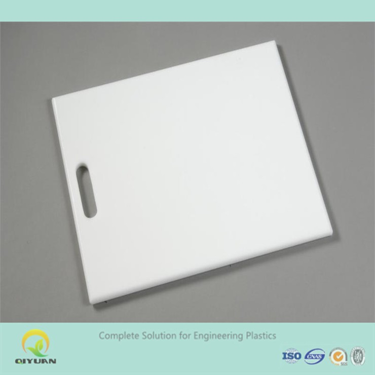 chopping board plastic sheet/ safety uhmwpe board with handle for kitchen