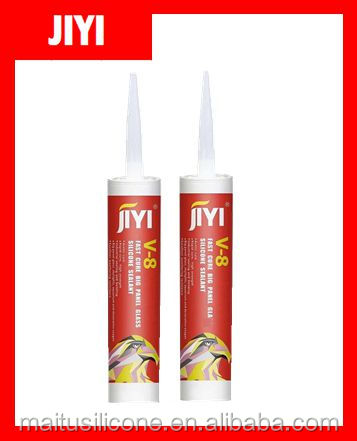 high quality glass window silicone sealant /big glass bonding silicone adhesive /V8