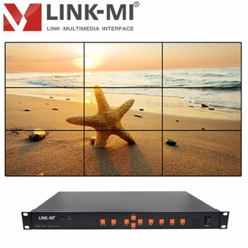 LM-TV09 Composite video, VGA, DVI, HDMI Signal Capture 3x3 Video Wall Controller