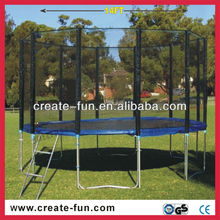 14FT backyard king trampoline with safety net