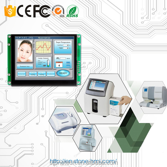 "5"" touch screen controller HMI for industrial automation"