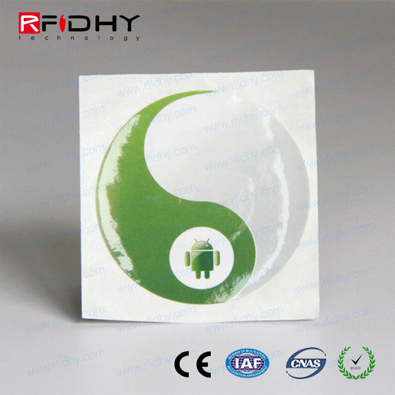Chip RFID sticker for Electronics Inventory Tracking