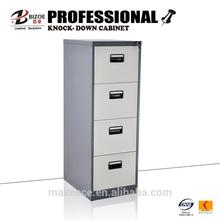 practical four drawers coffee color filing cabinets