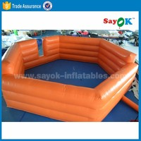 soccer free kick game inflatable football field pitch mini inflatable soccer field for sale