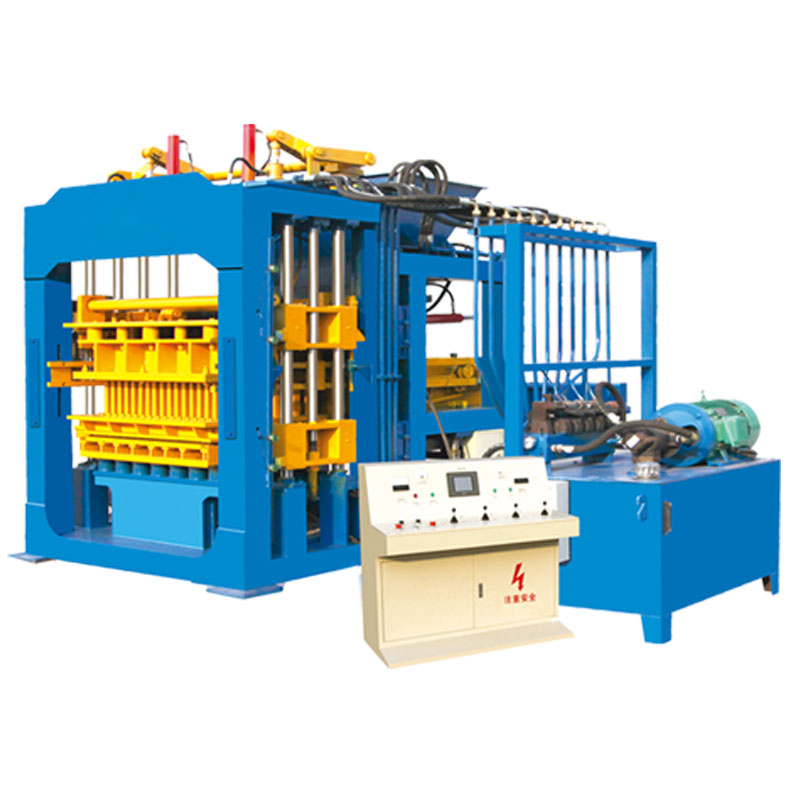 QT10-15 full auto large scale brick making production line