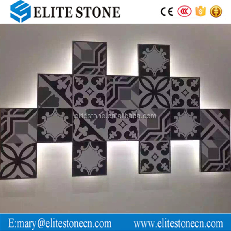 Flower Pattern Ceramic Floor Tile 200x200mm,Wall and Floor Tiles