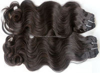 Brazilian Virgin Hair Body Wave Unprocessed 7A Hair Weave Bundles with Middle Part Top Closure Cheap Peruvian Human Remy Hair