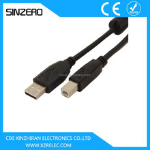 low voltage computer cable /micro usb printer cable XZRU001/usb printer cable