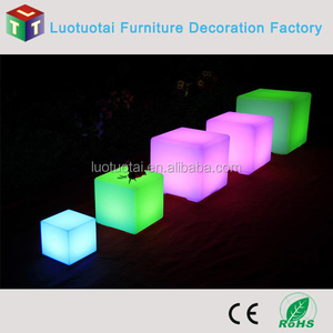 10cm 24 keys remote control wireless RGBW color change small led cube light