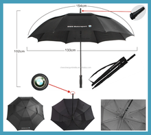 30'' auto double layer golf umbrella