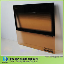 3-5mm colored /stained tempered glass for water purifier (home appliance)
