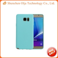 Cell phone thin jelly tpu case for Samsung galaxy note 5