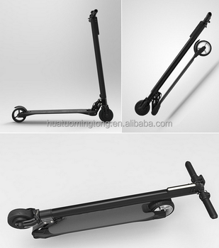 Hot Selling Brand New with Samsung Battery Carbon Fibre Foldable Electric Scooter for Adults