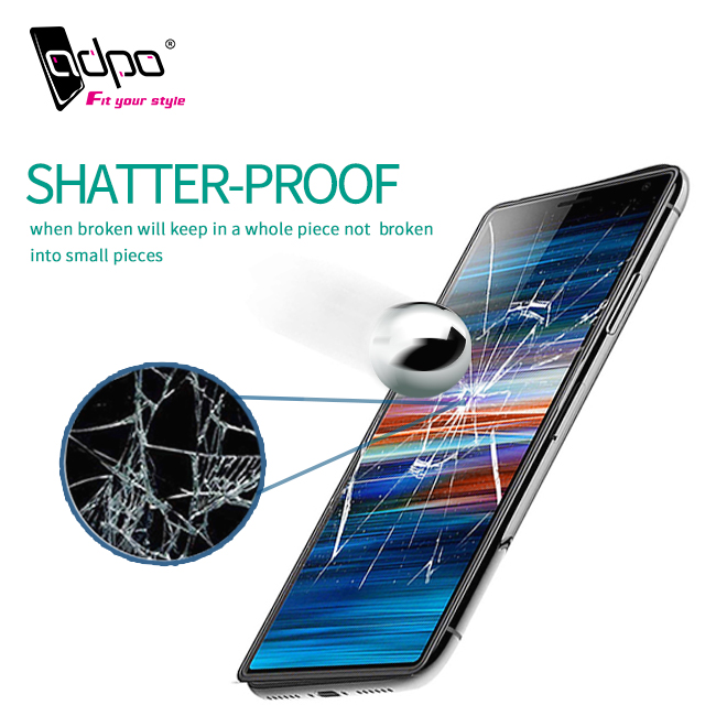Hot Sale Free Sample Anti Scratch Mobile Phone 5D Tempered Glass Screen Protector for Sony Xperia X10 X10 Plus