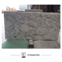 Italy Polished Arabescato White Marble Price For Floor And Wall