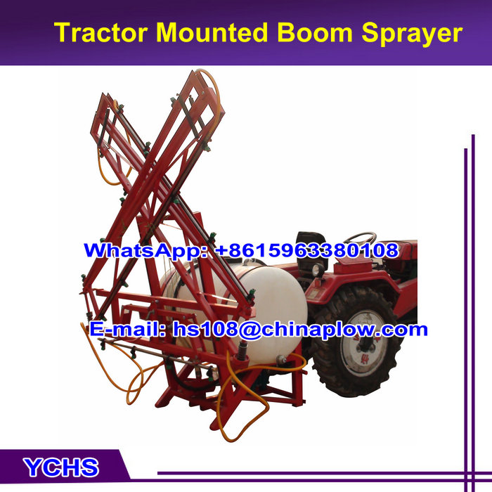 Farm machinery tractor 3 point boom sprayer with ISO9001