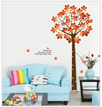Maple Leaves Home Decor Decals Wall Sticker Removable DIY Mural Wall Decoration