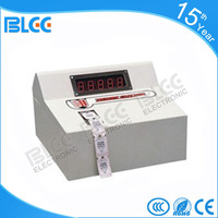 Factory price electric redemption ticket counter cutting/eating machine with printer