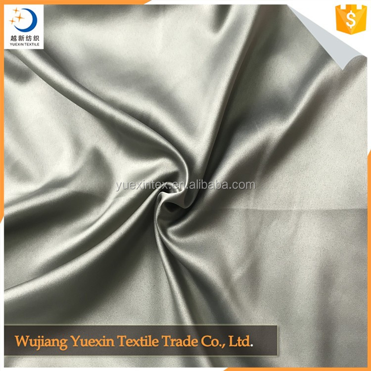 Excellent quality Crepe Backed Silk Satin Fabric