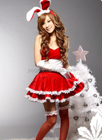 cute girl christmas bunny costumes