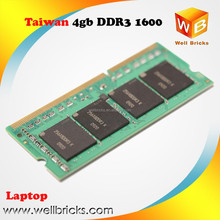 Original chips 1600mhz memory ram ddr3 8gb laptop