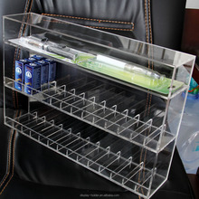 Custom high quality clear acrylic electronic cigarette display rack
