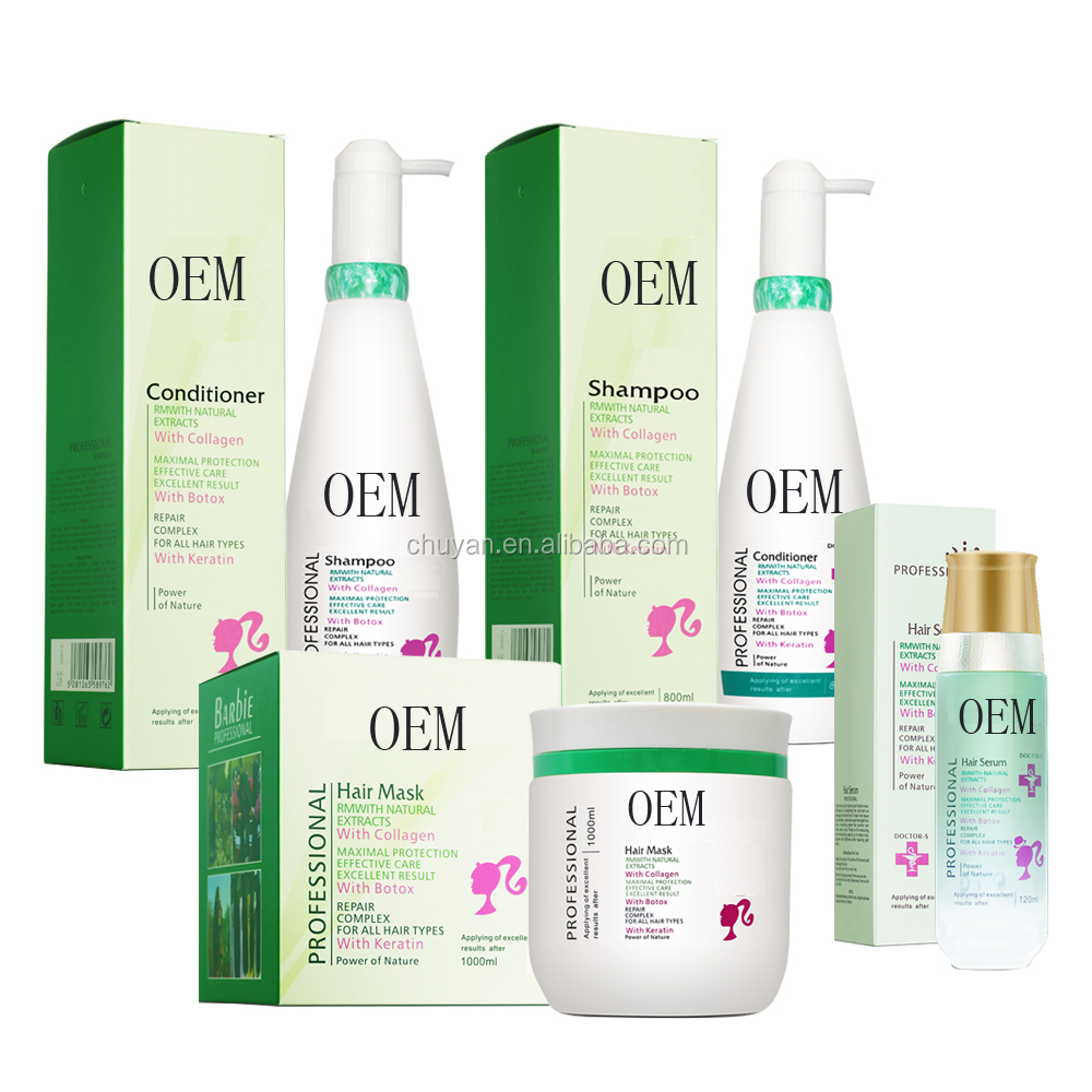 OEM/ODM 800ML private label keratin Moisturizing treatment hair conditioner