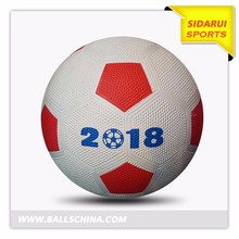 grain surface 4# toy football for kid durable rubber soccer ball