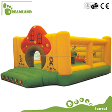 Professional supplier giant inflatable slide,inflatable bouncer with swimming pool