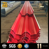 corrugated roof tile / roof steel / floor deck for wholesales
