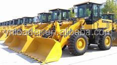 Luneng zl50 wheel loader price /china 5T clamp Shan dong YIneng YN 956 heavy wheel loader