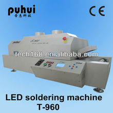 Puhui T960 wave soldering machine,smd led soldering oven,infrared solder,reflow oven,taian,T960