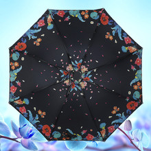 2016 Fashionable Promotional Rain Portable Sunshade Umbrella