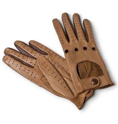 Sheep Skin Ladies Car Driving Gloves