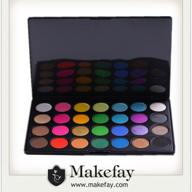 Professional Shimmer 28 Color Eyeshadow Makeup Palette naked eyeshadow