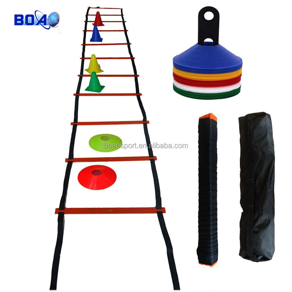 agility speed training ladders and cones for footwork training