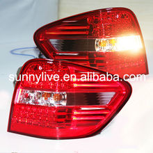 For MERCEDES-BENZ M-CLASS W164 Rear Lamp BZ089-BUDE2 Red Clear Lens 2006-2008 year