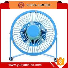 360 degrees revolving metal table fan