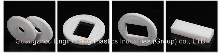 Enineering plastic part manufacturer machined cnc plastic NYLATRONGSM Nylatron Nylon parts