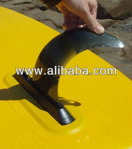 8 inch flex fin for air7 fin box and US box longboard and SUP and inflatable