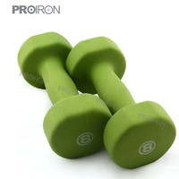 hexagon dumbbell set /wholesale weights/neoprene dumbbell