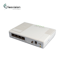 GPU304 excellent experience with VoIP, Internet,4k iptv streaming,4 GE Lan Gpon ONU