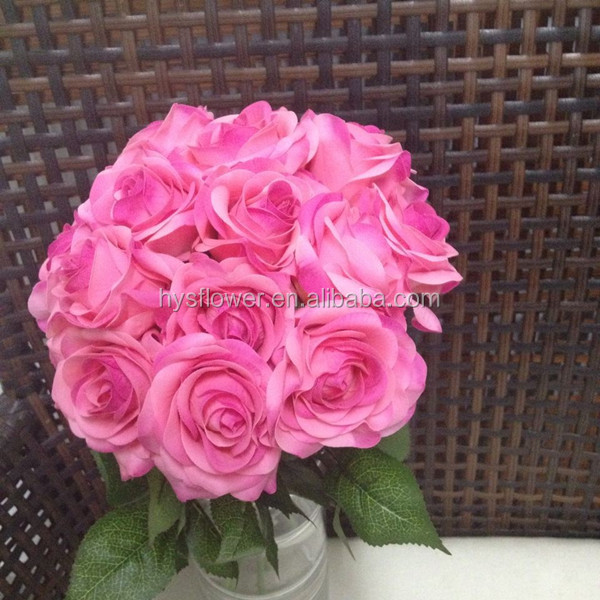 ceremony rose flowers artificial small roses quality flowers wedding table decoration