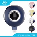 Fisheye lens 360 degree panoramic mini vr 360 camera for android mobile phone